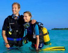 Happy Scuba Diver just got thier Reef Box